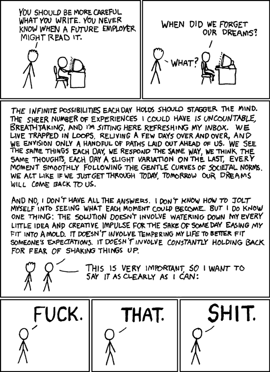Dreams by XKCD